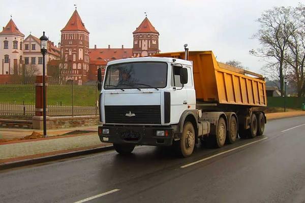 ограничения для большегрузов Беларусь 2017