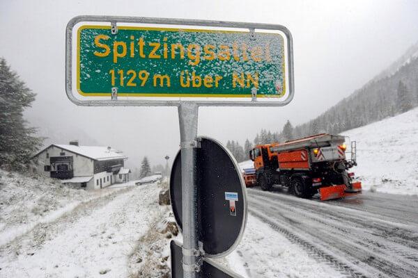 зимние цепи для передвижения в Германии