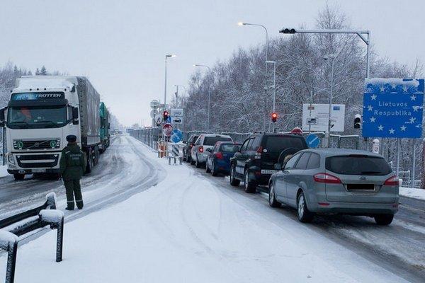 Литва подкорректировала ПДД на зиму