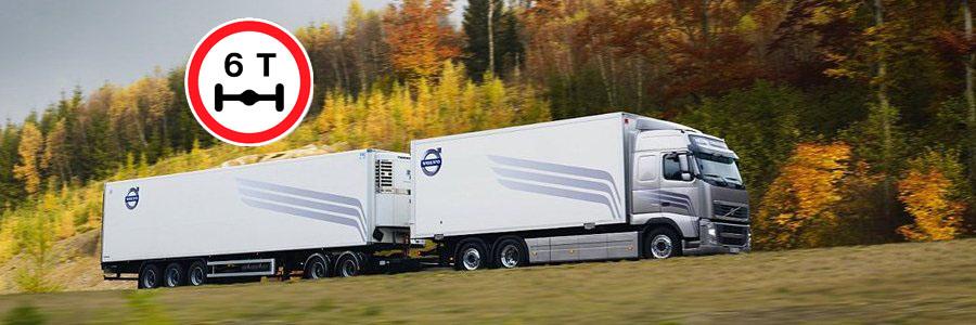 ограничение осевой нагрузки для грузовиков