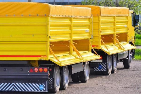 Услуги перевозки зерна с полей и с тока