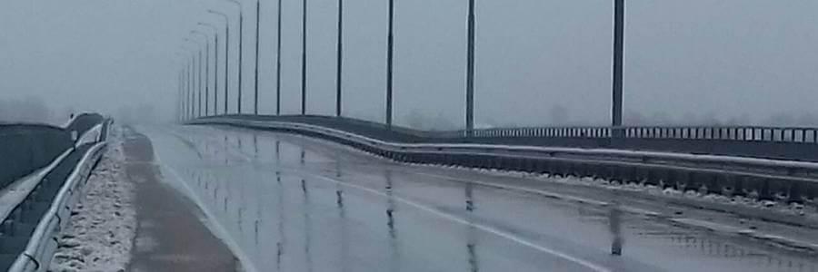аварийный мост в Житковичах