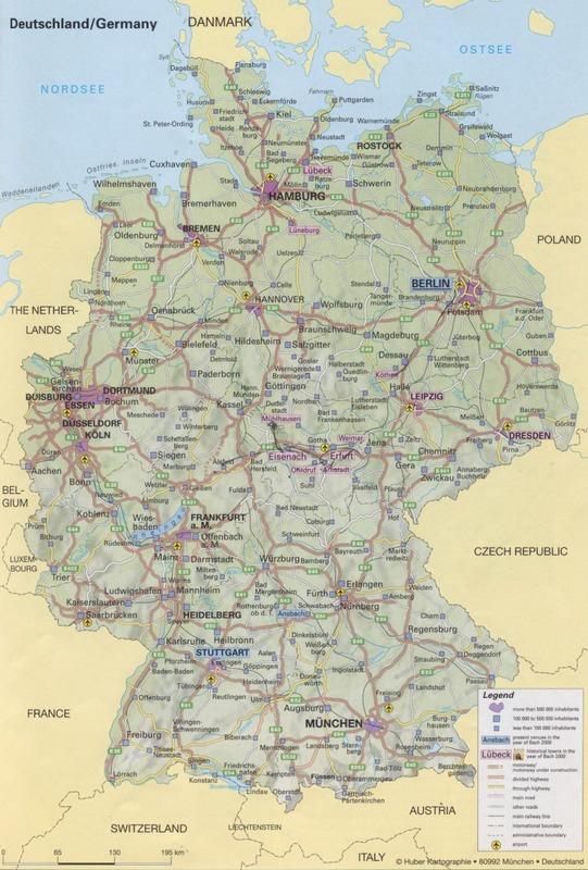 платные дороги Германии